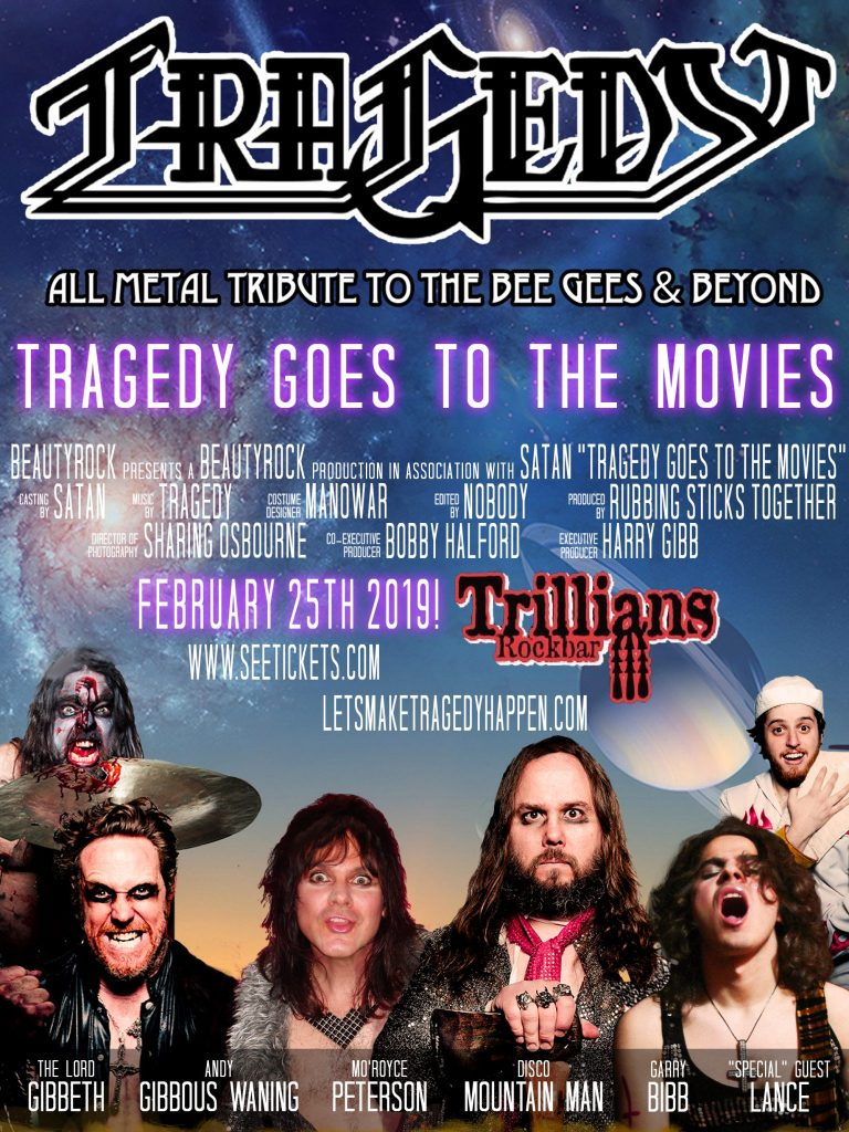 Tragedy The Heavy Metal Tribute To Bee Gees And Beyond RFTK Promotions